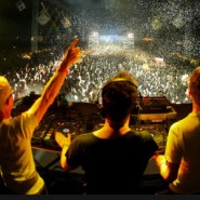 Above & Beyond NYE 2009/10 Pic