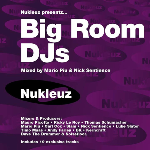 Big Room DJs – Mixed by Mario Piu & Nick Sentience [2001]
