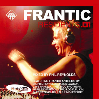 Frantic Residents 01 - Mixed by Phil Reynolds [2002]