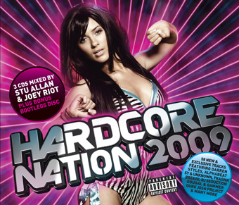 Hardcore Nation 2009 - Mixed by Stu Allan, DJ Seduction & Bootleg Mix [2009]