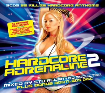 Hardcore Adrenaline 2 - Mixed by Stu Allan, DJ Seduction &