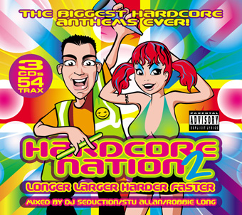 Hardcore Nation 2 – Mixed by DJ Seduction, Stu Allan & Robbie Long [2005]